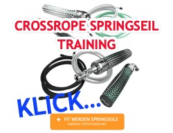 Cross Rope Springseil Training